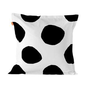 Bavlněný povlak na polštář Blanc Dot, 60 x 60 cm