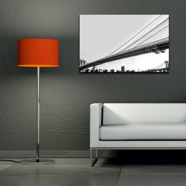 Obraz Black&White Bridge, 45 x 70 cm