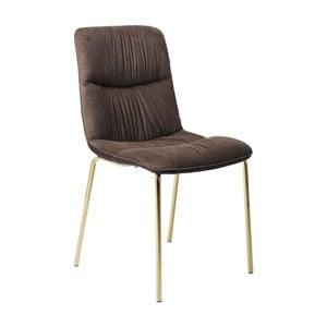 Tmavě hnědá jídelní židle Kare Design Vegas Forever