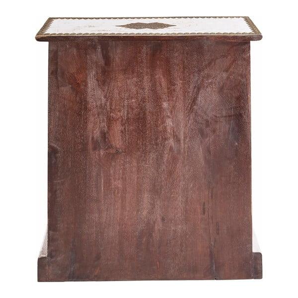 Comodă cu 9 sertare din lemn de mango Støraa Vito