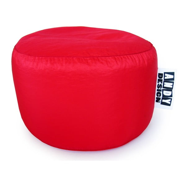 Taburet, velký (nylon červený)