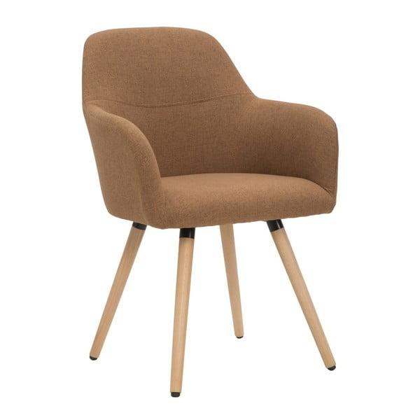 Poltrona barna fotel - Mauro Ferretti