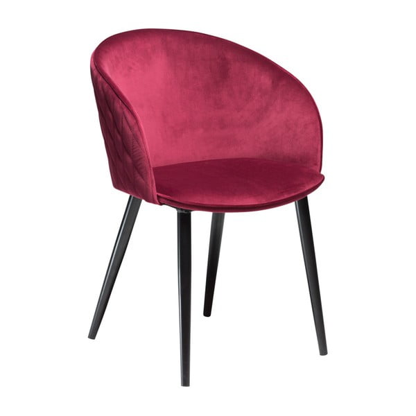 Tmavoružová stolička DAN-FORM Denmark Dual