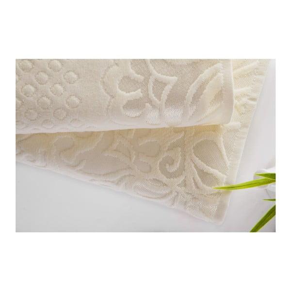 Sada 2ks ručníků Kumsal Ecru, 50x90 cm a 70x140 cm