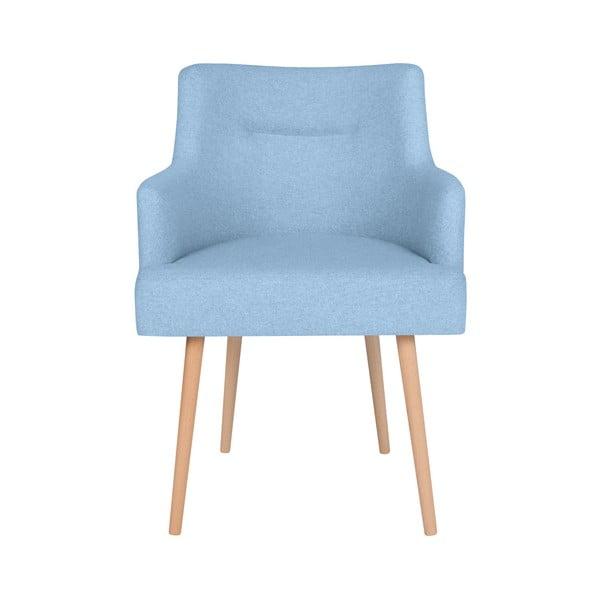 Světle modrá jídelní židle Cosmopolitan Design Venice
