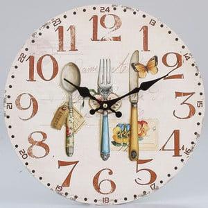 Dřevěné hodiny Culinaire