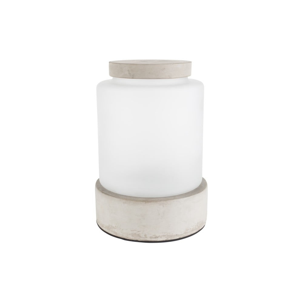 Váza s podsvícením a betonovými detaily Zuiver Reina, výška29,5cm