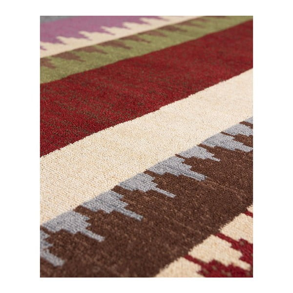 Vlněný koberec Maya 192 Multi, 140x200 cm