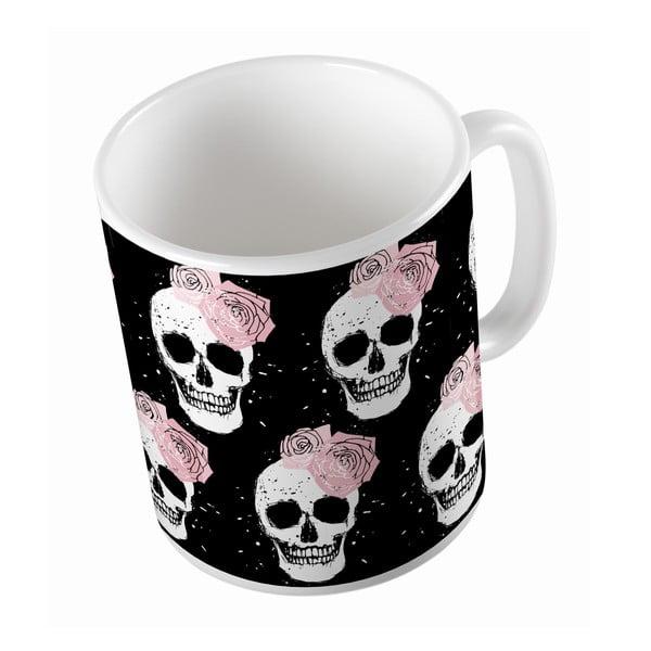 Keramický hrnek Lady Skull, 330 ml