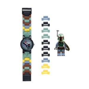 Hodinky s figurkou LEGO® Star Wars Boba Fett