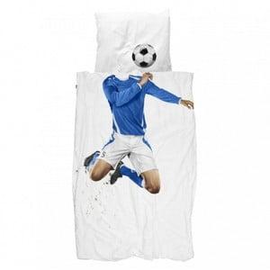Povlečení Snurk Soccer Champ Blue, 140 x 200 cm