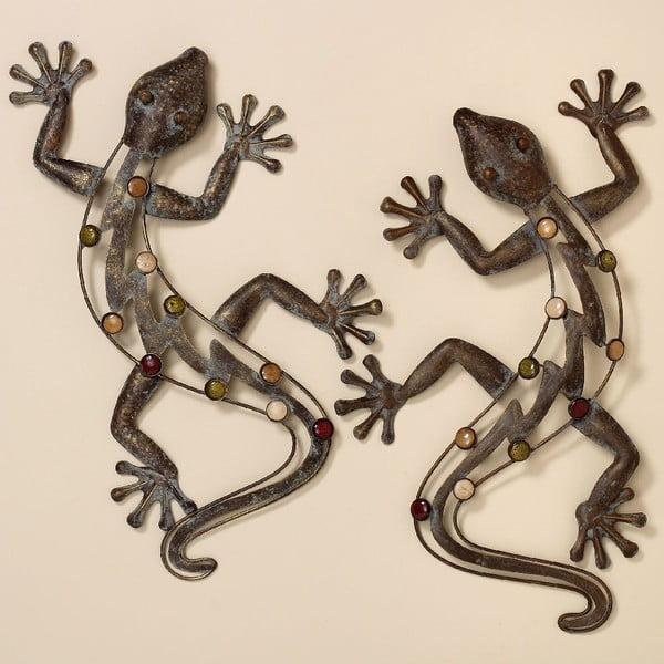 Nástěnná dekorace Lizard