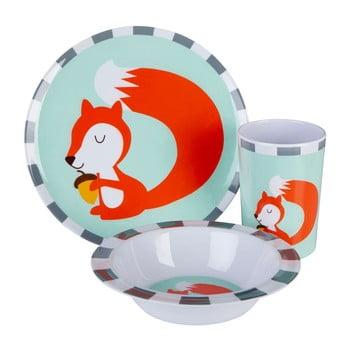 Set veselă pentru copii Premier Housewares Mimo Susie Squirrel, 3 piese imagine