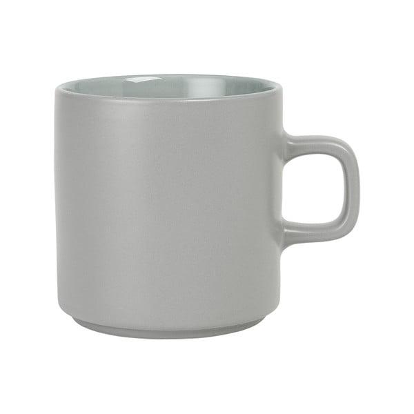 Sivý keramický hrnček na čaj Blomus Pilar,250ml