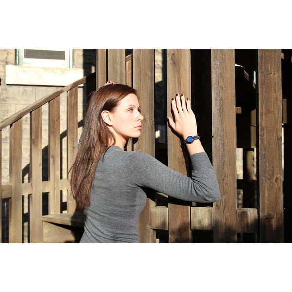 Korálkové hodinky Classic, Blue Cosmo