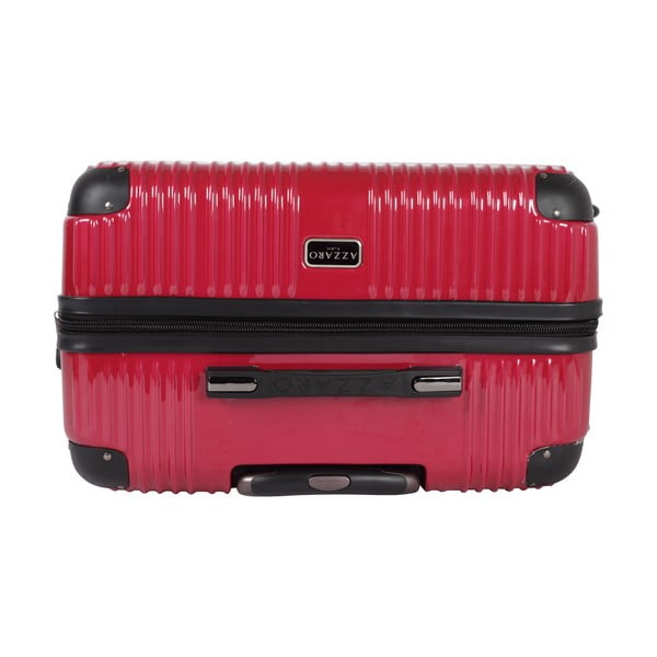 Kufr Azzaro Trolley Red, 43 l