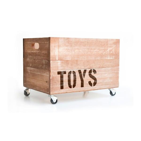 Drewniana skrzynia na zabawki Really Nice Things Toys