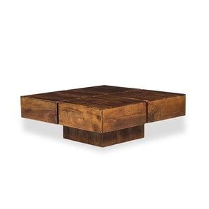 Konferenční stolek z akáciového dřeva Woodking Celtic