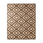 Hnědý koberec Hanse Home Hamla Diamond, 120x170cm
