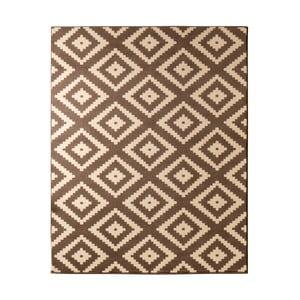 Hnědý koberec Hanse Home Hamla Diamond, 80x150cm