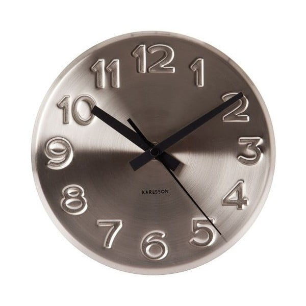 Hodiny Present Time Bold Engraved