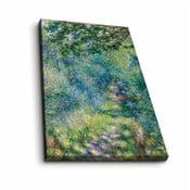 Nástěnná reprodukce na plátně Pierre Auguste Renoir, 45 x 70 cm