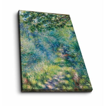 Reproducere tablou pe pânză Pierre Auguste Renoir, 45 x 70 cm
