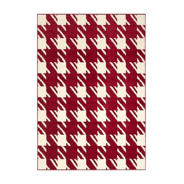 Červený koberec Designela, 200x290 cm
