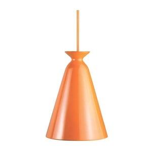 Závěsné svítídllo Curve, oranžová