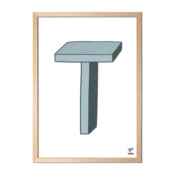 Plakát T od Karolíny Strykové