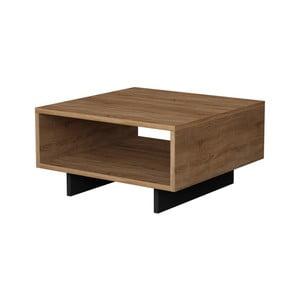 Hnědý konferenční stolek Homitis Zizzy