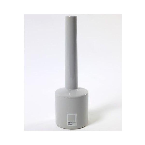 Váza Pantone Grey, 20 cm
