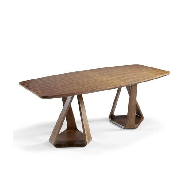 Jídelní stůl z ořechového dřeva Ángel Cerdá Manolo, 220 x 100 cm
