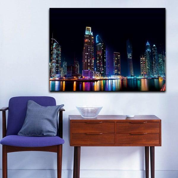 Obraz Duhová noc, 70x100 cm