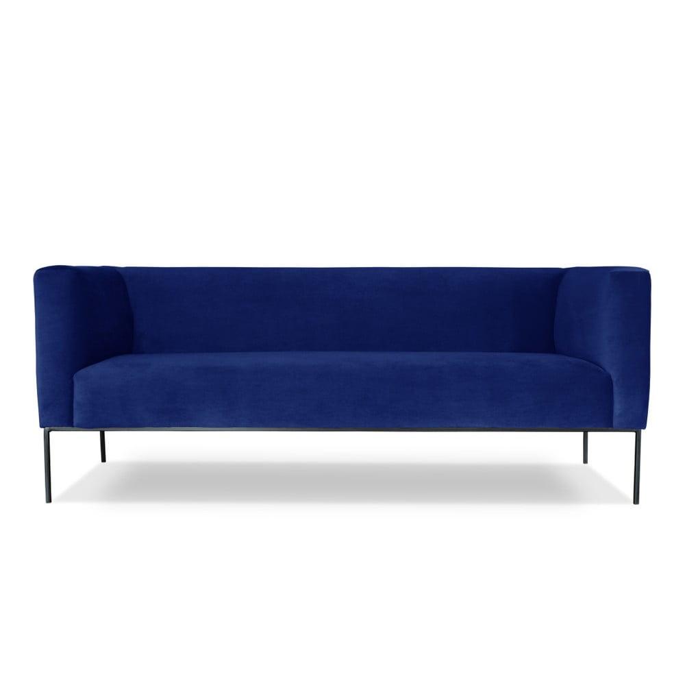 Modrá trojmístná pohovka Windsor & Co. Sofas Neptune