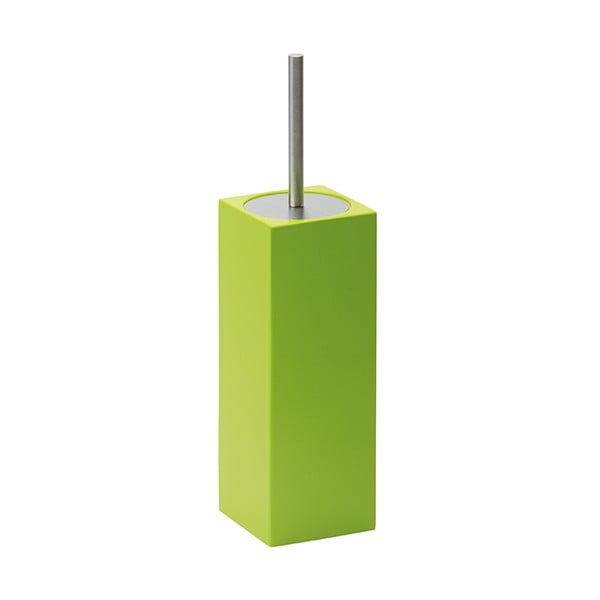 Toaletní kartáč Taco, zelený