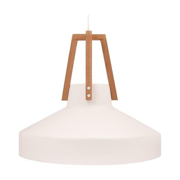 Bílé stropní světlo Loft You Work, 44 cm