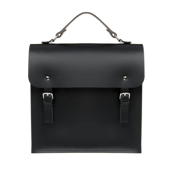 Kožený batoh Morley Black/Chestnut