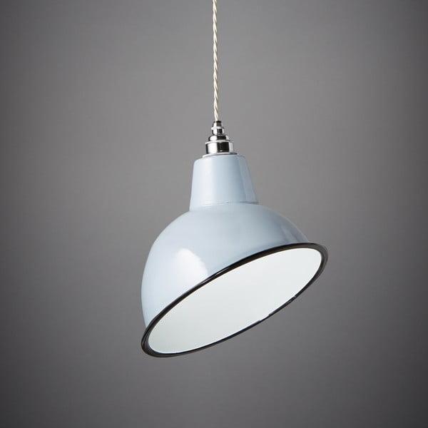 Závěsné světlo Angled Cloche Grey