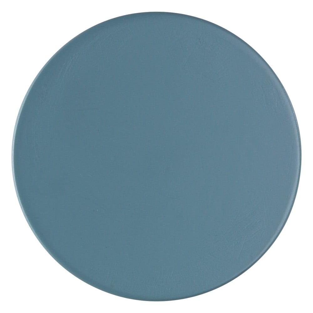 Produktové foto Modrošedý nástěnný háček Wenko Melle, ⌀6cm