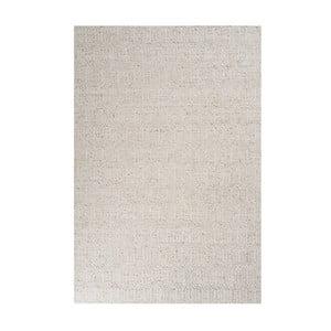 Béžový koberec s přídavkem vlny Justin, 140x200cm