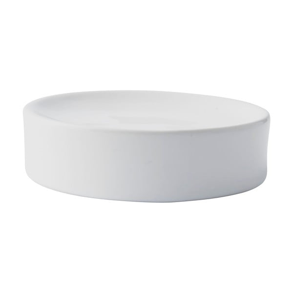 Bílá miska na mýdlo Galzone