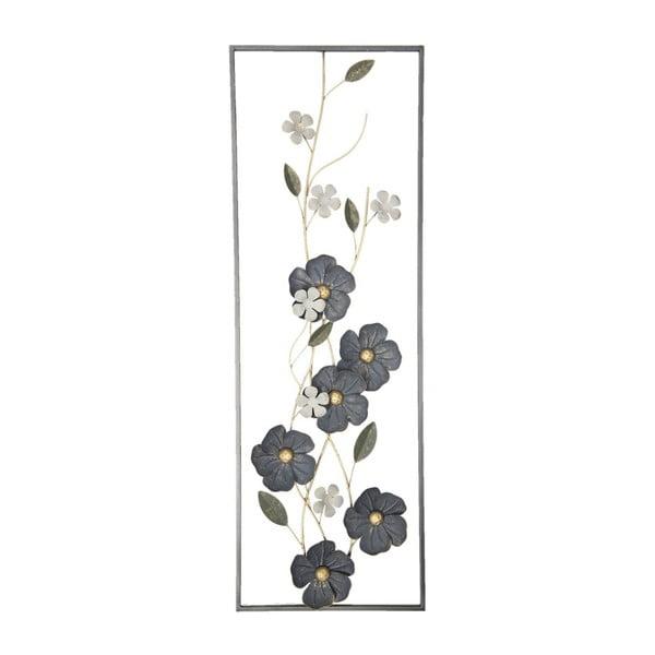 Železná nástěnná dekorace Clayre&Eef Blossom