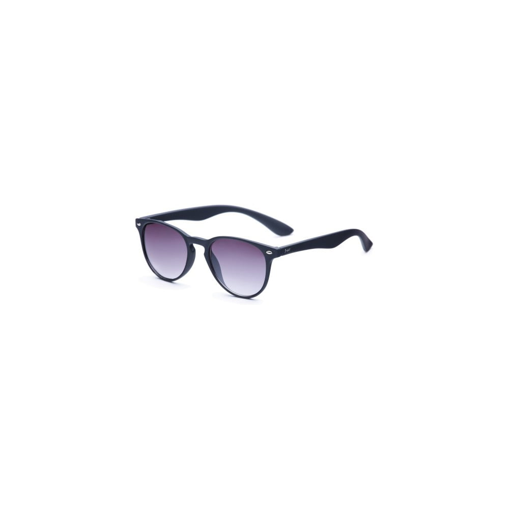 Sluneční brýle s černými obroučkami a černými skly David LocCo Globetrotter Snazzy