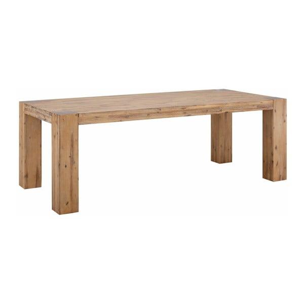 Jídelní stůl z masivního dřeva Støraa Mabel, 100x220cm