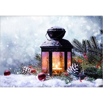 Covor Vitaus Christmas Period Lantern With Snow, 50 x 80 cm de la Vitaus