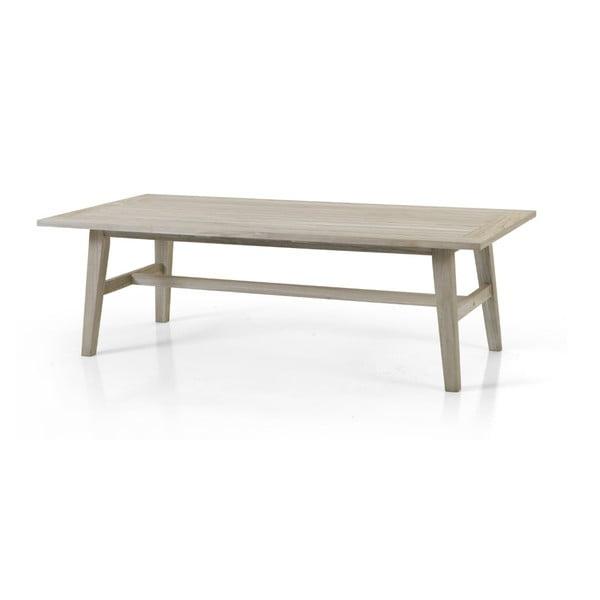 Šedý zahradní stolek Brafab Vidos, 150x75cm