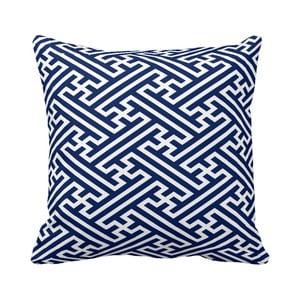 Polštář Blue Labyrinth