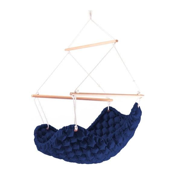 Interiérové houpací křeslo Swingy In Mystic, námořnická modrá