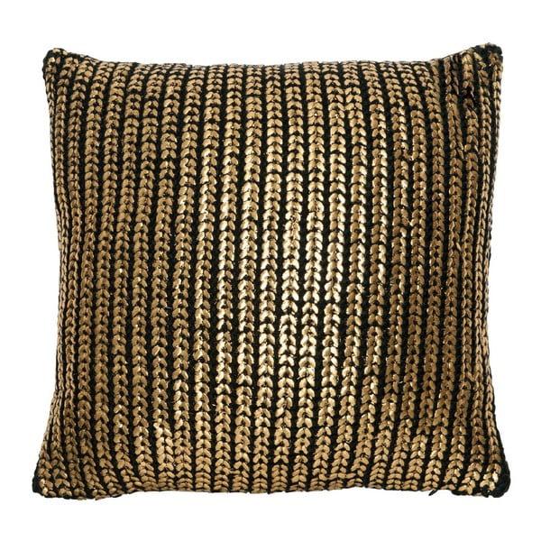 Polštář Gold Knit, 45x45 cm